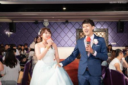 趙喵喵婚禮紀實|敬祐 + 珮綾|雅悦會館高雄館|婚禮攝影|高雄婚攝