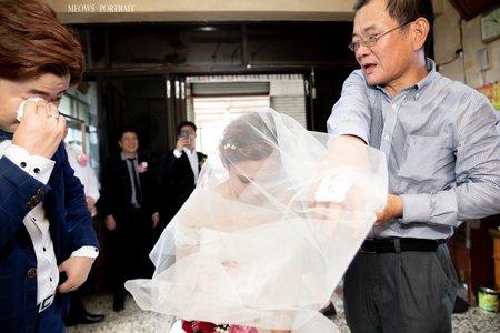 趙喵喵婚禮紀實|禹衡 + 怡慧| 新營台糖中山堂|婚禮攝影|高雄婚攝