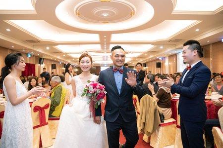 趙喵喵婚禮紀實|韋傑+凌蓉| 合慶喜慶會館|婚禮攝影|高雄婚攝