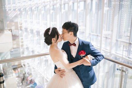 趙喵喵婚禮紀實|彥廷+偉婷|高雄漢來大飯店(巨蛋會館)|婚禮攝影|高雄婚攝