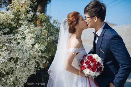 趙喵喵婚禮紀實|尊宸+婉如(結婚)|屏東上海素食|婚禮攝影|高雄婚攝