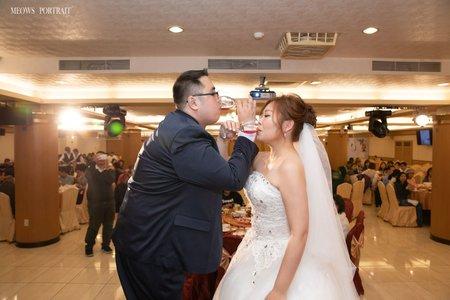 趙喵喵婚禮紀實|坤杰+婉妮|晶頂101海鮮餐廳|婚禮攝影|高雄婚攝
