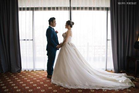 趙喵喵婚禮紀實|亞融+冠禎(教堂婚禮)|高雄圓山大飯店|婚禮攝影|高雄婚攝