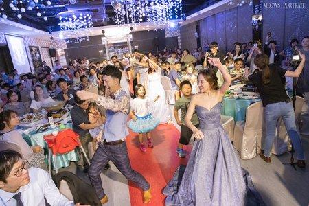 趙喵喵婚禮紀實|嘉凱+雅昕| 嘉義滿福樓婚宴廣場|婚禮攝影|高雄婚攝