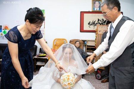 趙喵喵婚禮紀實|柏霖+怡晴| 潮港城國際美食館(結婚)|婚禮攝影|高雄婚攝