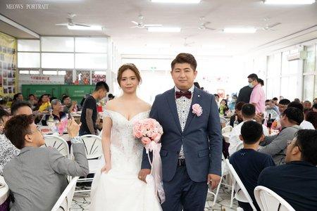 趙喵喵婚禮紀實|玉祥+姿卉| 彌陀社區活動中心|婚禮攝影|高雄婚攝