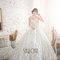 精品手工品牌婚紗(編號:547121)