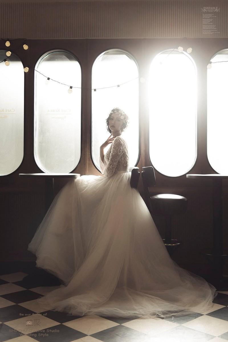 囍聚494001 - 囍聚手工婚紗工作室《結婚吧》