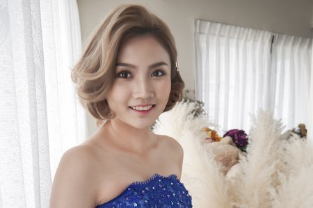 sandy瑞珊新娘秘書-短髮造型