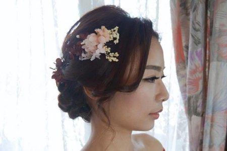 sandy新娘秘書-中芬文定造型