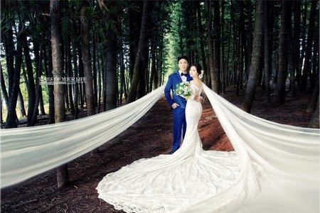 美式風格婚紗