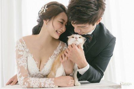 昆娜經典婚紗新人分享  漢龍 💖 巧慧