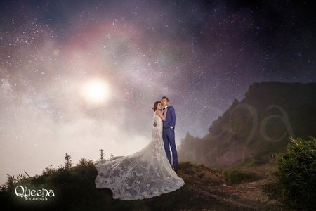 【昆娜經典婚紗】合歡山星空
