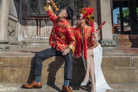 唯美浪漫中式風格✬ Queena Wedding ✩