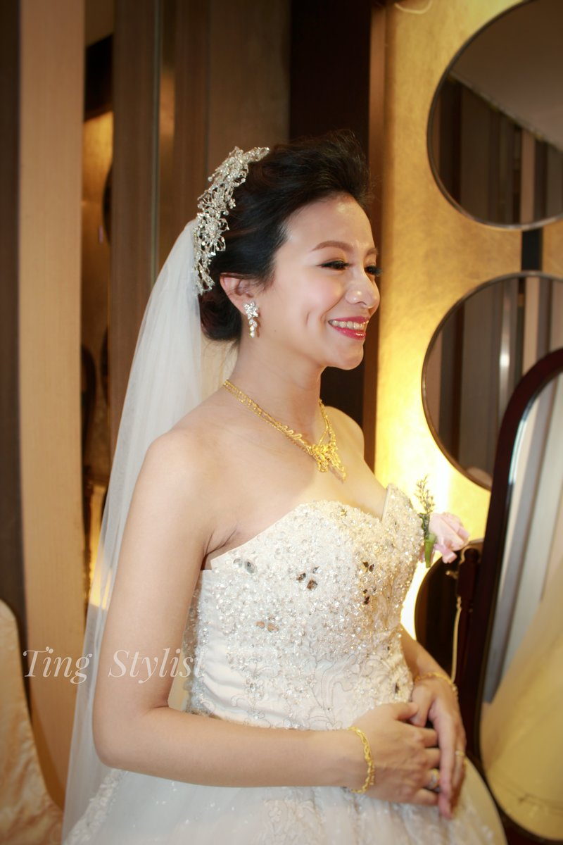 新娘訂婚/結婚宴客造型及優惠作品