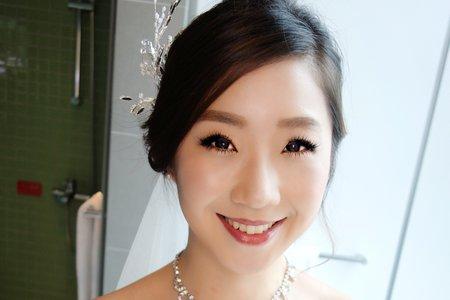 Chi Makeup 整體造型-詩柔白紗