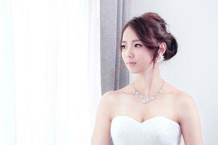 Chi Makeup -|wedding| 清透名媛白紗