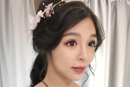 Chi Makeup整體造型-放大電眼