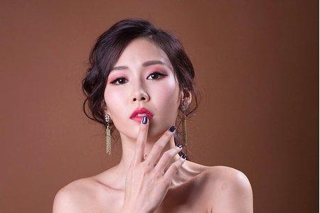 Chi Makeup整體造型-類雜誌婚紗