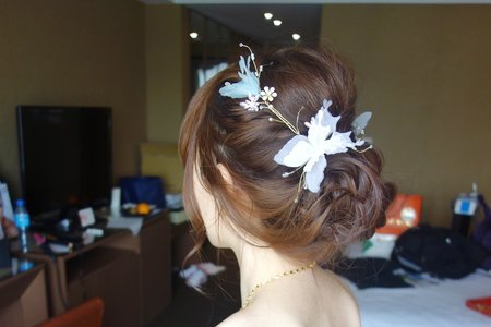 Chi Makeup 整體造型- 髮型