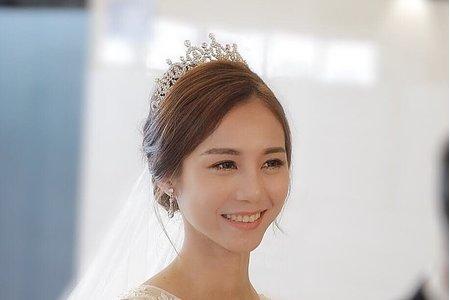 Chi Makeup X 婚禮現場 輕柔韓系