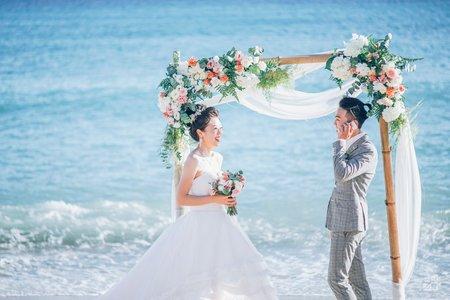 【Alan & Judy 】戀夏墾丁.夏都沙灘婚禮