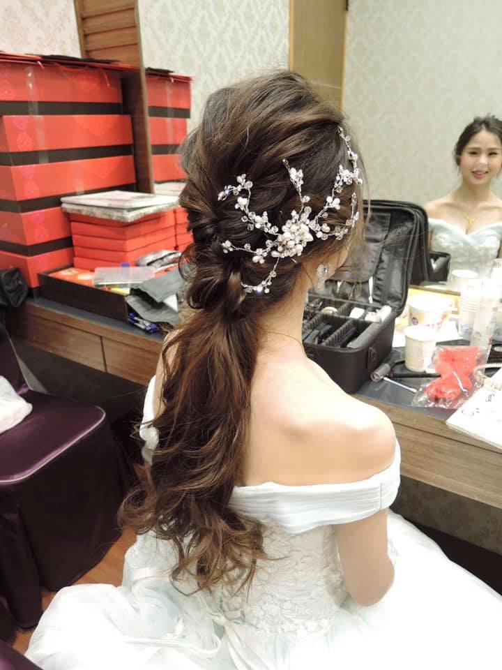 65385828_1594998627300642_6504597686254043136_n - 新秘儀家  葛瑞絲 婚禮造型 整體造型《結婚吧》