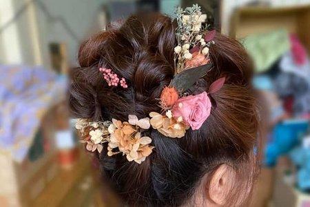 #乾燥花仙女造型