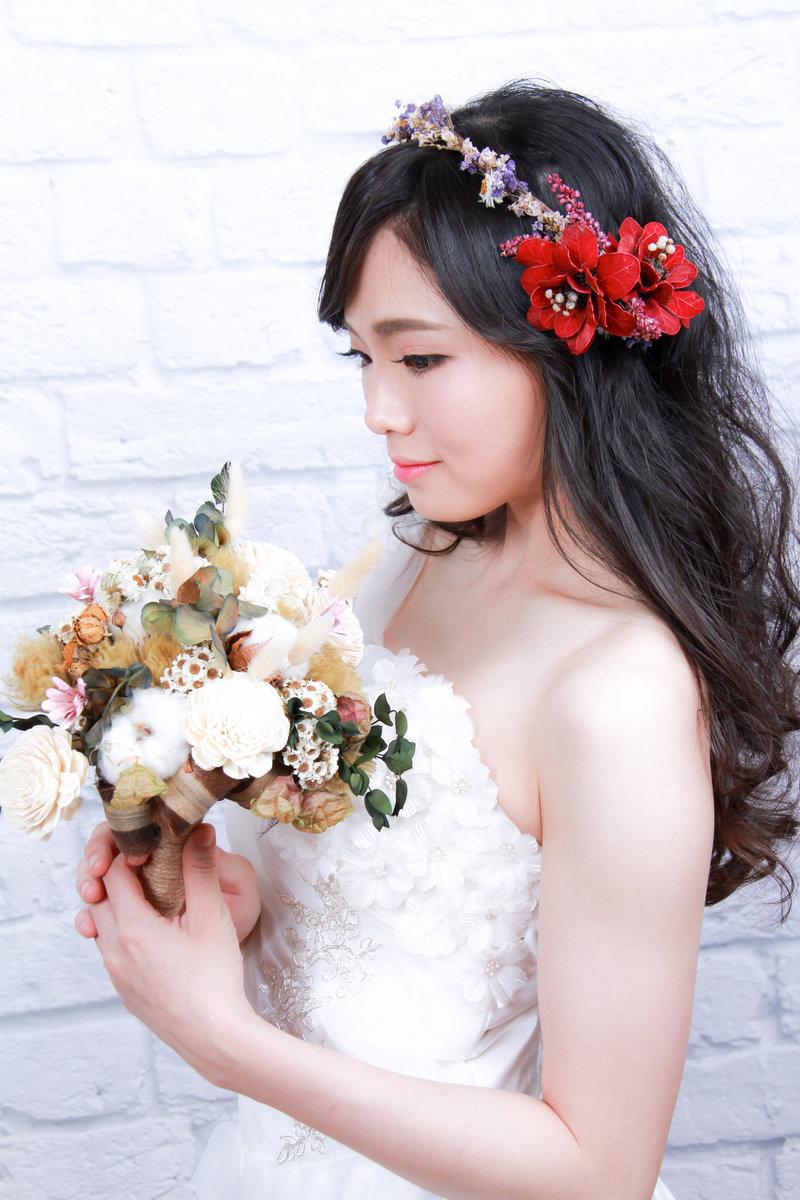 新娘試妝方案作品
