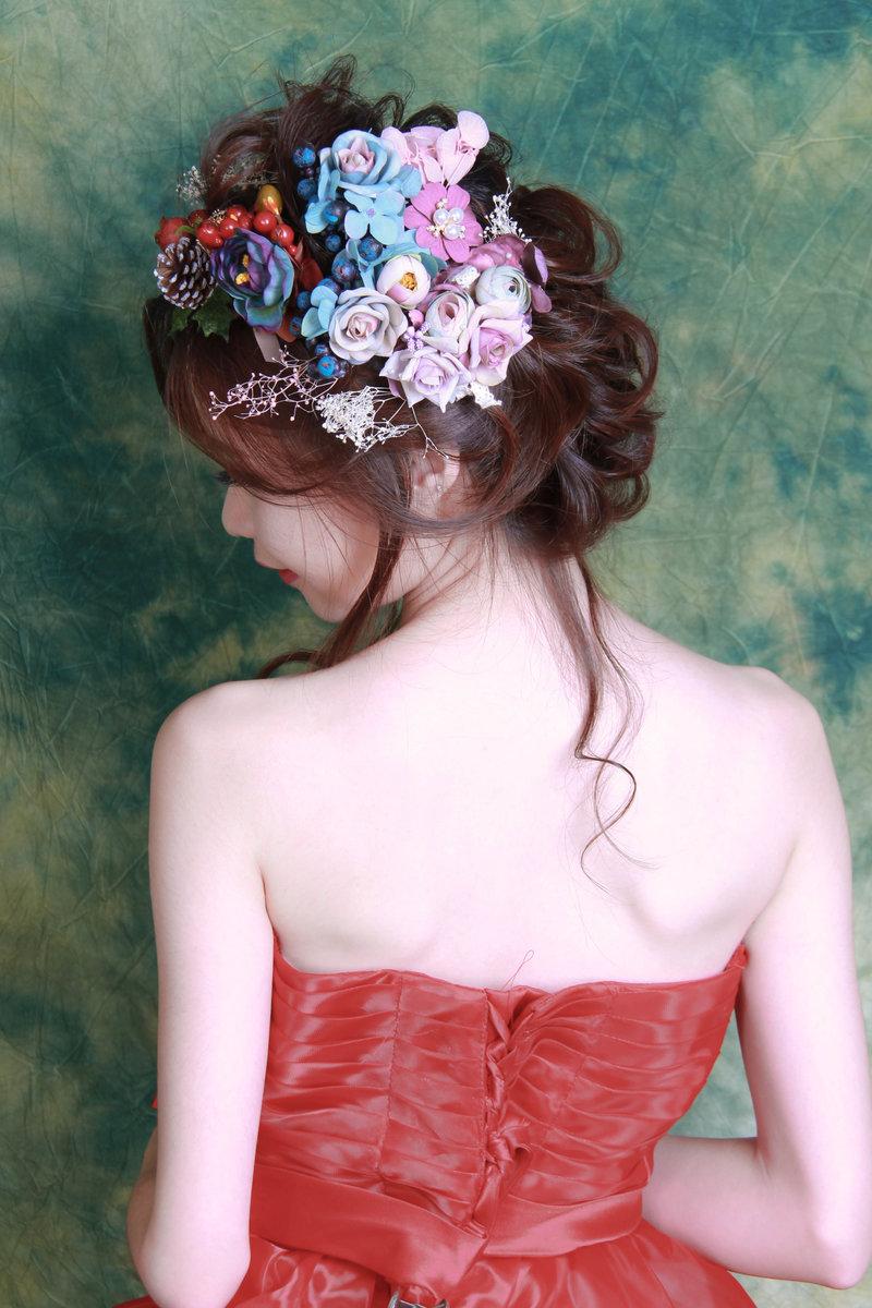 小資夫妻婚紗造型棚拍作品