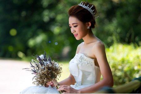 個人婚紗造型寫真