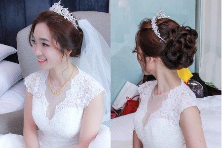婚宴白紗造型