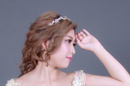 超浪漫的妝髮造型
