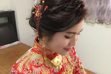 香港新娘的龍鳳掛