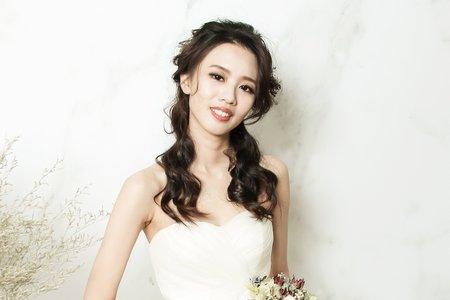 韓系婚紗造型