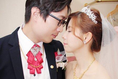 浪漫的婚宴造型