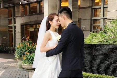 簡單不浮誇的氣質婚禮