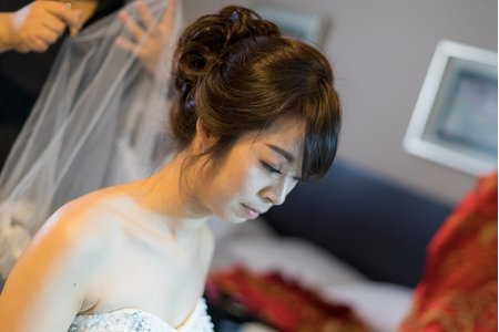 新娘婚宴整體造型