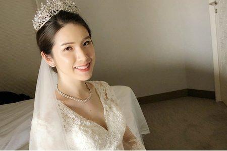 氣質高雅公主白紗造型