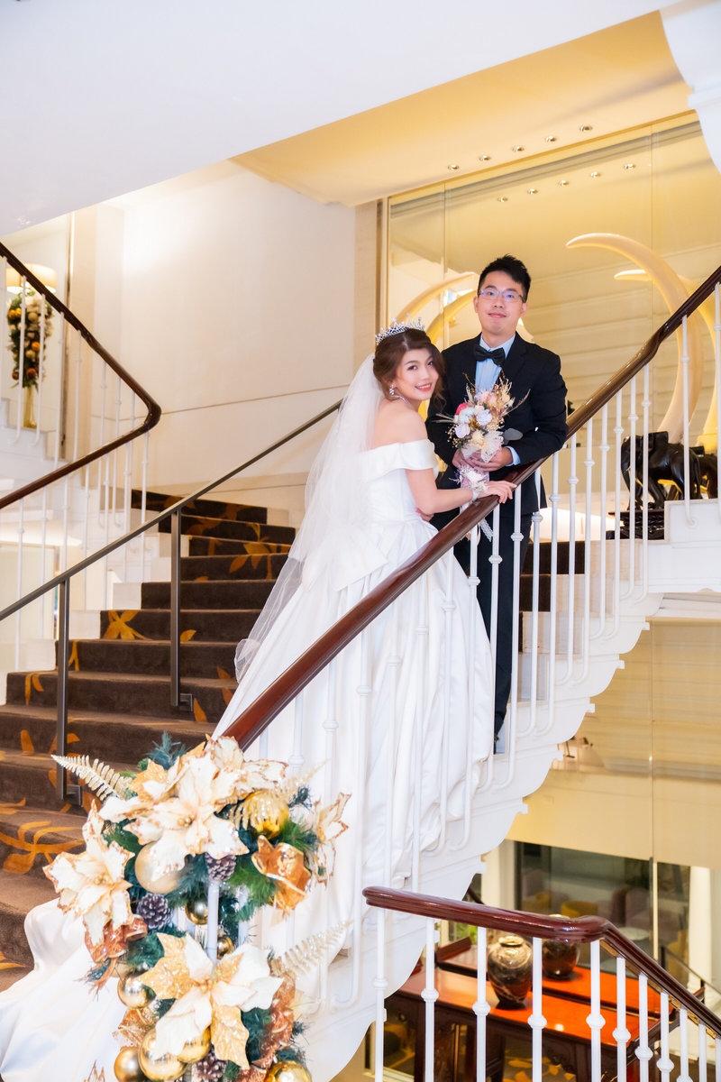 新娘婚宴整體造型作品