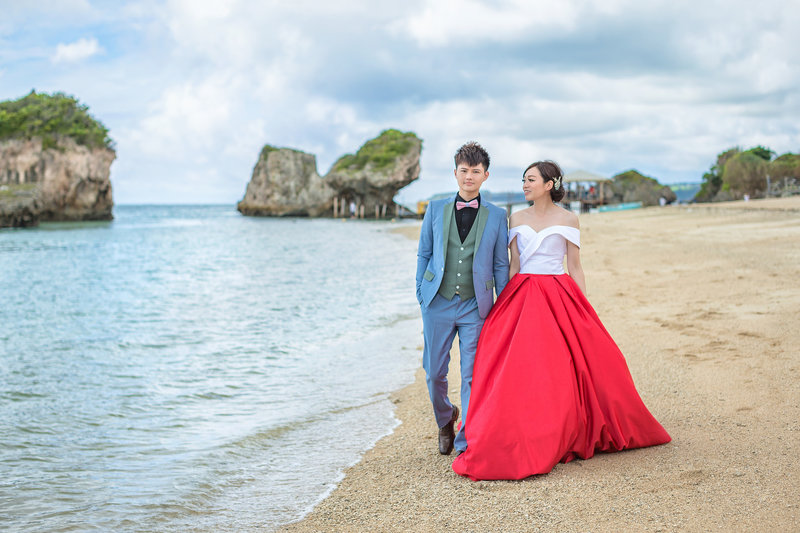 海外婚紗『沖繩』方案作品