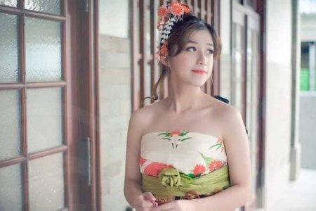 日式和洋折衷和和服客照