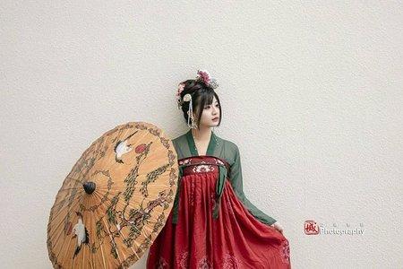 台南美術館漢服拍攝