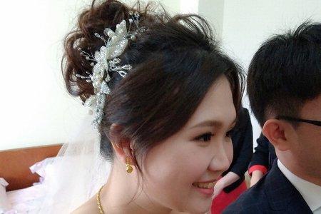 欣怡*結婚造型