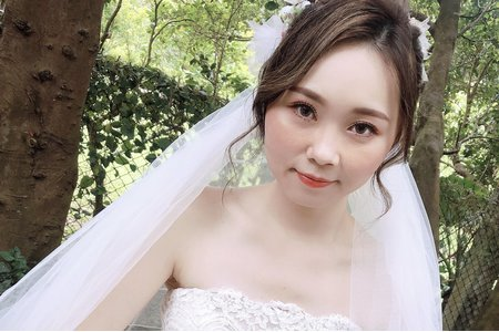 婚紗外拍指定韓系眼妝