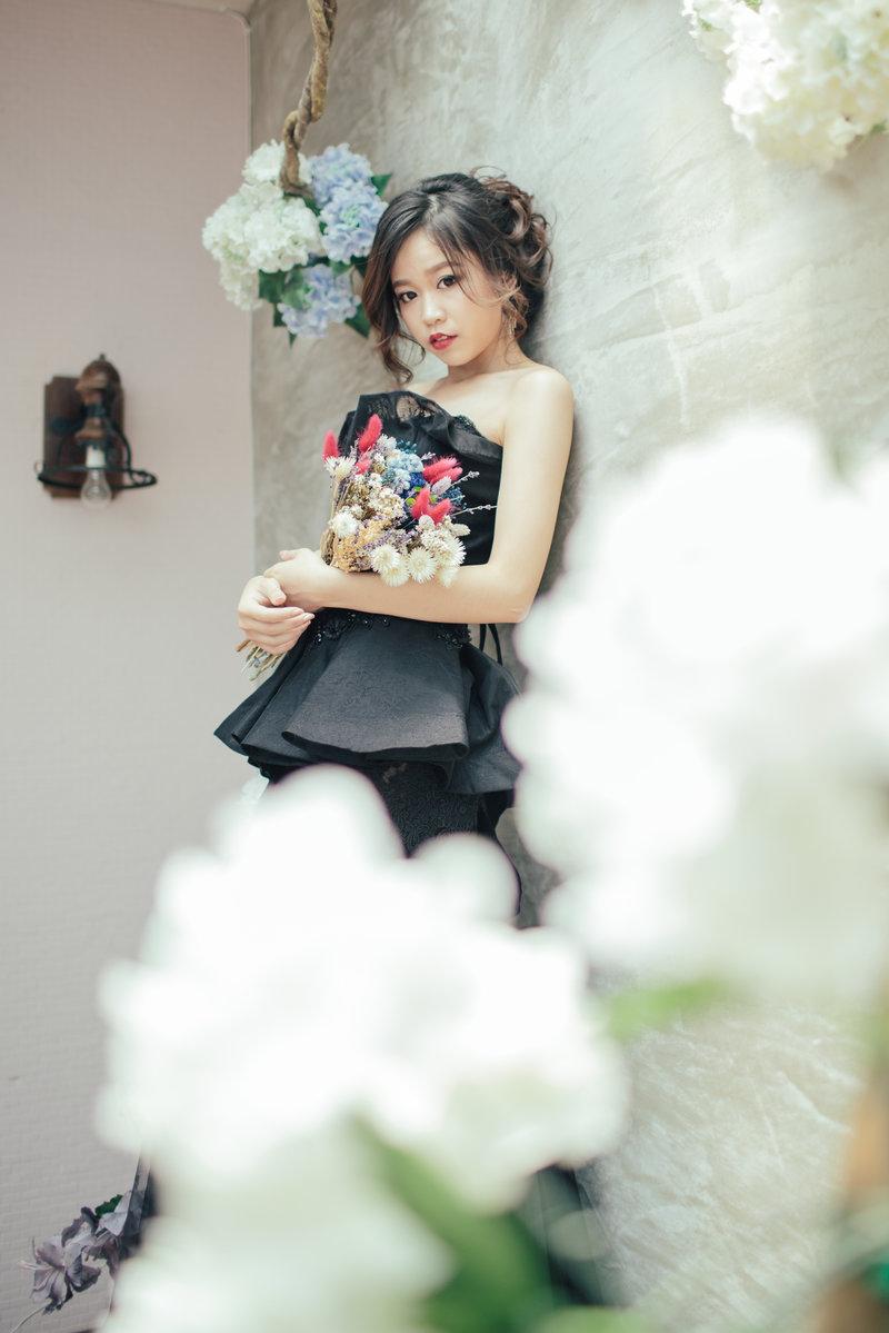 高雄噴槍彩妝新秘~titi 整體造型師作品