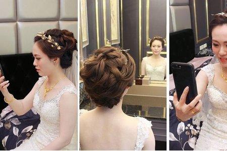 噴槍彩妝titi~bride 儀 結婚造型