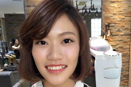 20160614-謝師宴妝髮