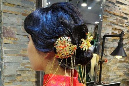 20180127-尾牙妝髮