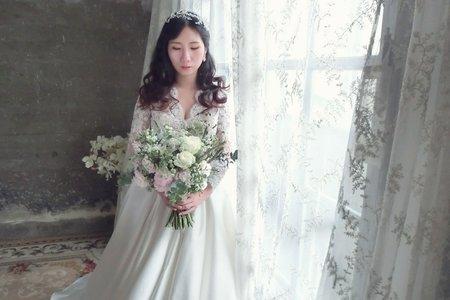 20171227-婚紗造型